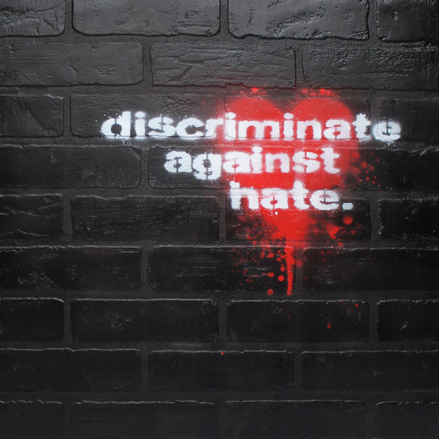 , 'Discriminate Against Hate ,' 2019, Bruce Lurie Gallery
