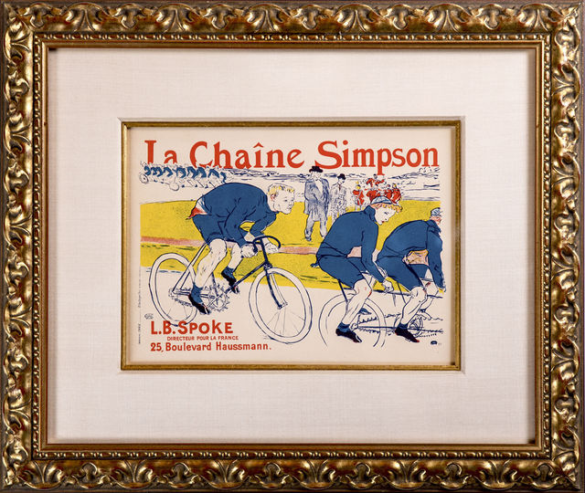 Henri de Toulouse-Lautrec, 'Le Chaine Simpson', 1900, Modern Artifact