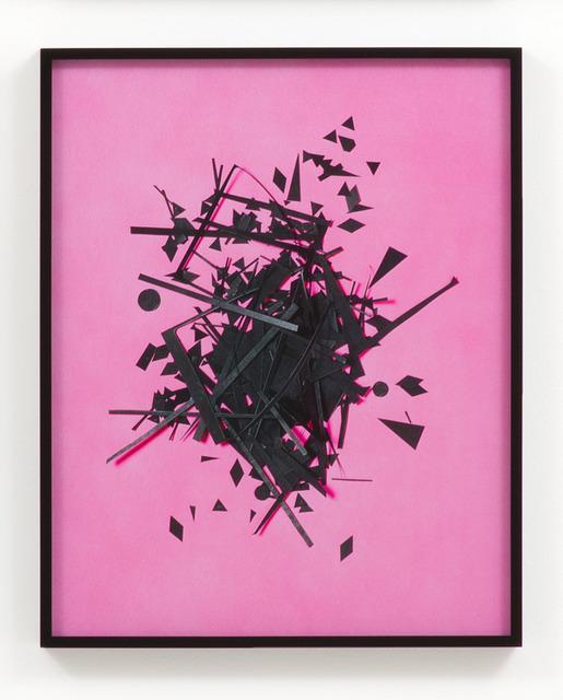 , 'Cutouts (Pink),' 2014, M+B
