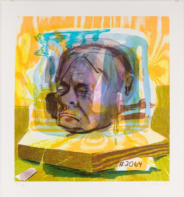 Dana Schutz, 'Head of Timothy Leary', 2005, Ballroom Marfa Auction 2014