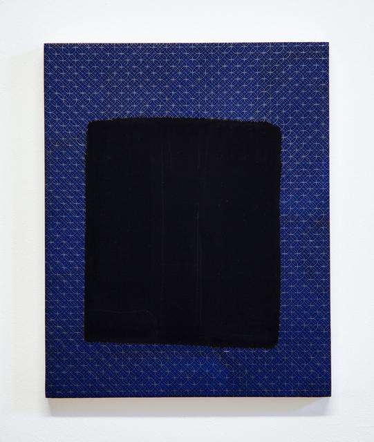 , 'Blue Black Cold 19,' 2015, Galerie Gisela Clement