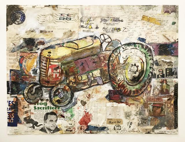 , 'Tractor,' 1979, Edward Cella Art and Architecture