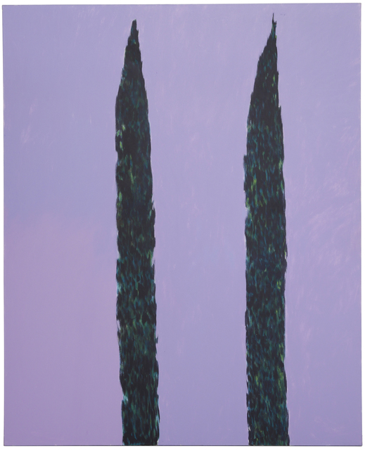 , 'The Cypress Trees,' 1980, Anglim Gilbert Gallery