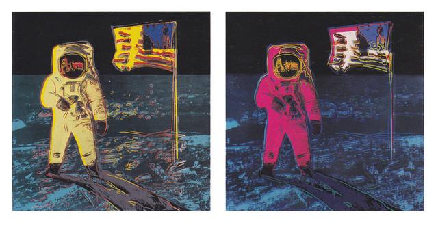 Andy Warhol, 'Moonwalk Complete Portfolio (FS II.404-405)', 1987, Revolver Gallery