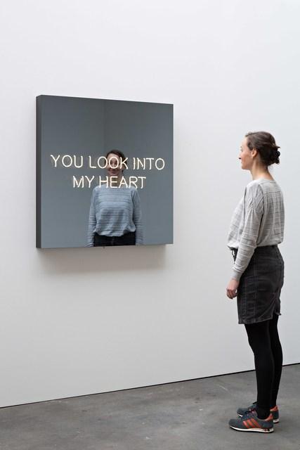 , 'YOU LOOK INTO MY HEART,' 2017, KÖNIG GALERIE