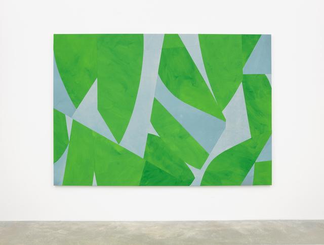 , 'Green Screen,' 2018, Casey Kaplan
