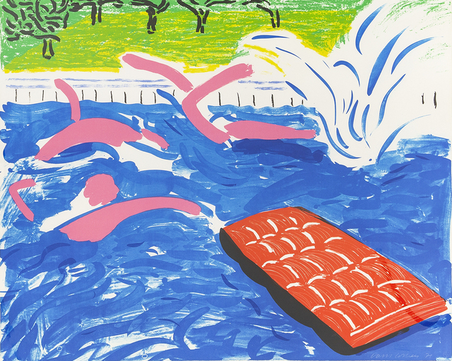 David Hockney, 'Afternoon Swimming', 1979, Susan Sheehan Gallery