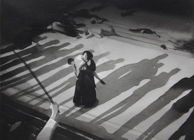 , 'Le Cuirassé Potemkine, Sergueï Eisenstein (Battleship Potemkin, 1925),' 2016, Galerie Les filles du calvaire