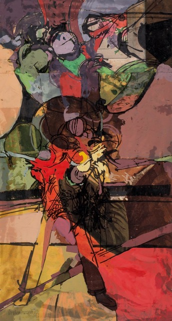 Ibrahim Hussein, 'Untitled', 1965, Doyle