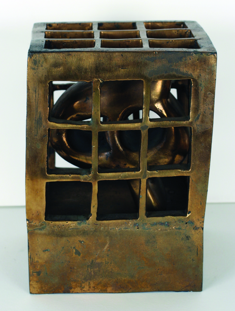 , 'A Cage for Letter H,' 1970, Grey Art Gallery