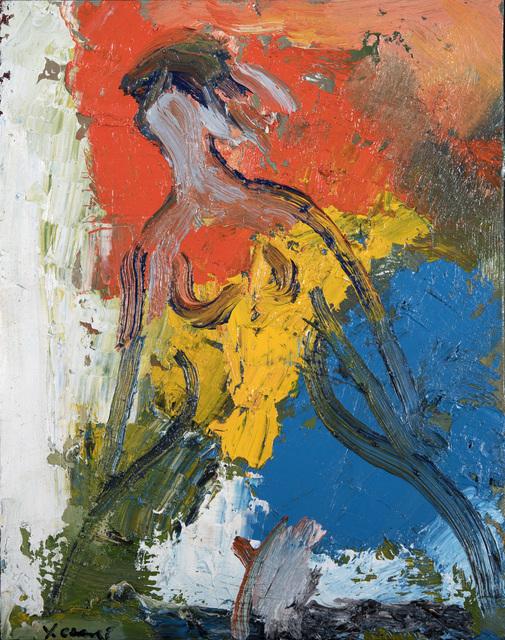, 'Woman with a Yellow Dress 1327,' 2013, Odon Wagner Contemporary