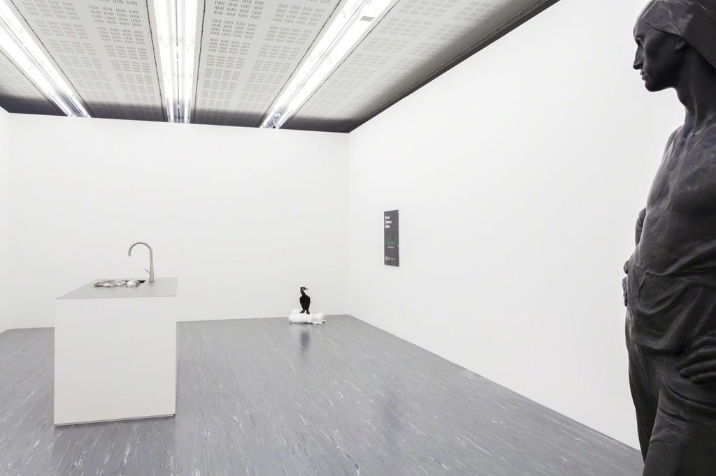 Exhibition view: Simon Dybbroe Møller − Lettuce © Belvedere, Vienna