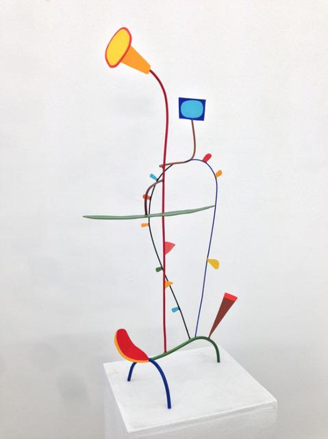 Tom Nussbaum, 'Don Quixote', 2014, Sculpture, Acrylic on steel, Octavia Art Gallery