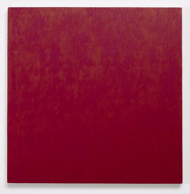 , 'Red Painting: Irgazine Ruby, February 6,' 2000, CONRADS