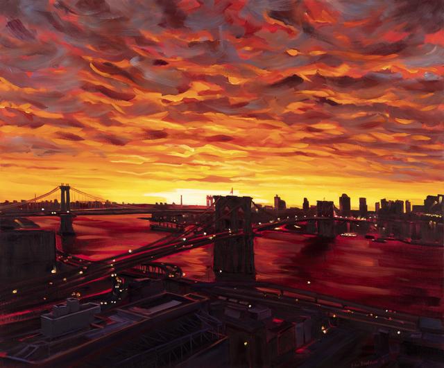, 'Inferno,' 2019, Pleiades Gallery