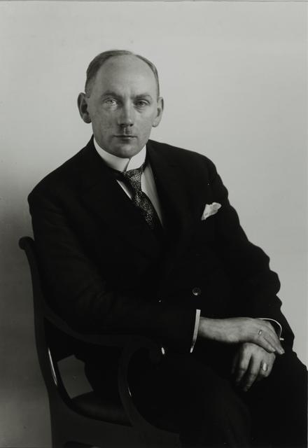 August Sander, 'Administrative Director, 1925/26', Galerie Julian Sander