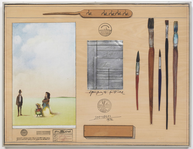 , ' Table Series: Artist,' 1972, DICKINSON