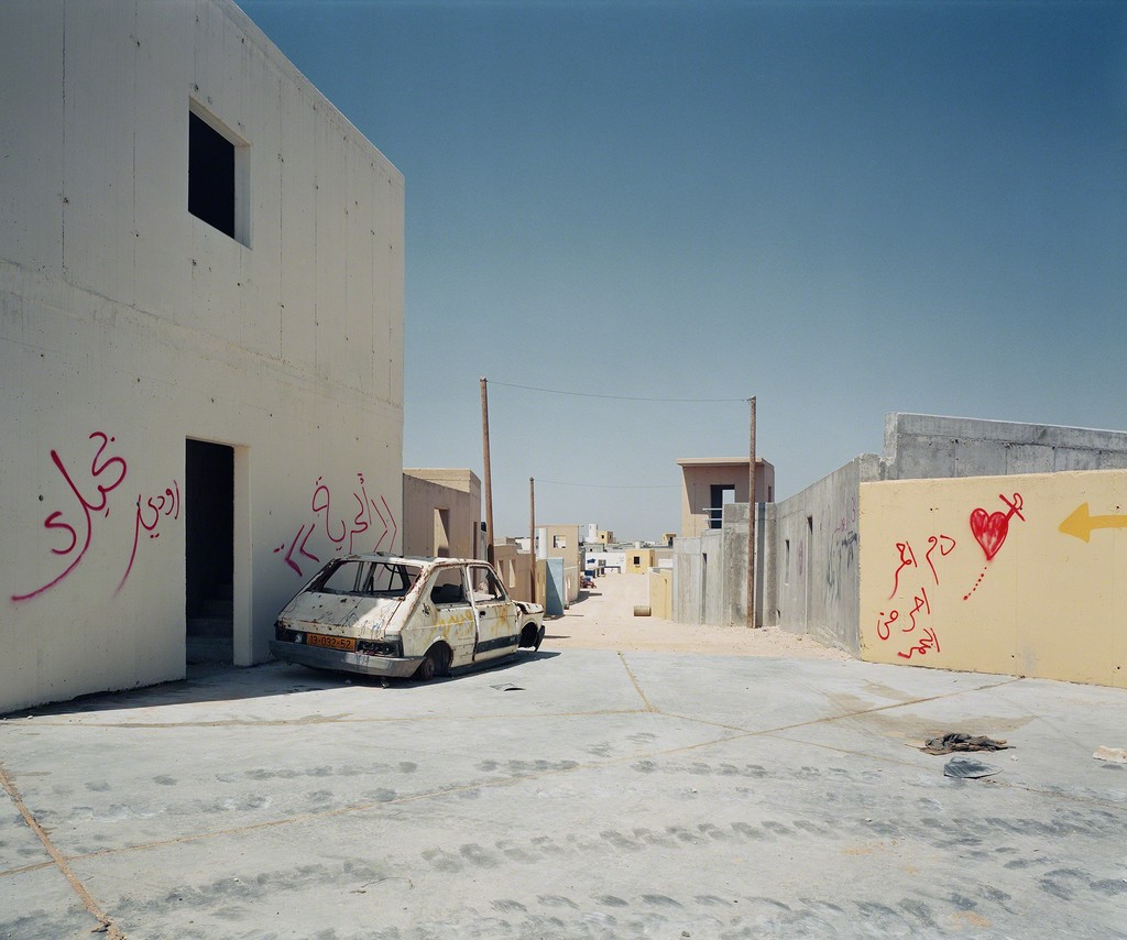 Adam Broomberg and Oliver Chanarin, Tze'elim Military Base, Negev Desert (Chicago #2), from the series Chicago, 2006. Digital chromogenic print. © Broomberg & Chanarin, courtesy the artists