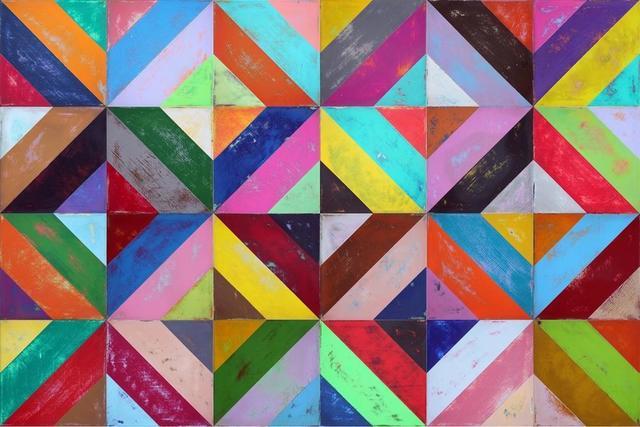 , 'Four Lines & Square,' , Aura Galerias