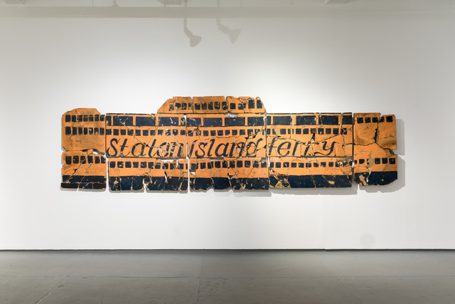, 'Remains of the Vessel Once Occupied by the Fresh Kills Museum,' 2009, Magnan Metz Gallery