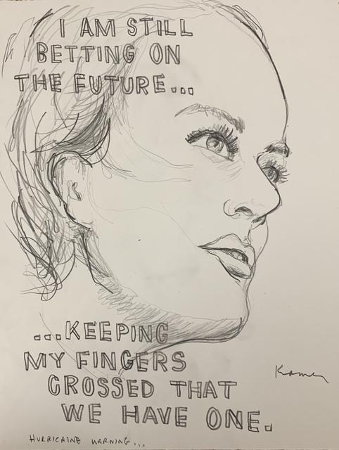 , 'Fingers Crossed,' 2018, MULHERIN