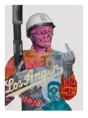 Tristan Eaton, 'LOS ANGER', 2017, Marcel Katz Art