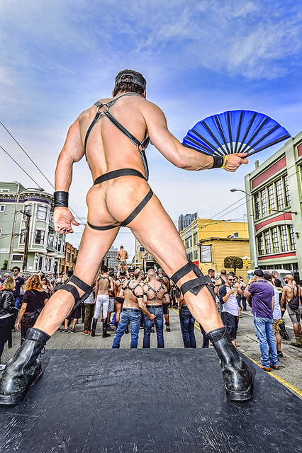 Mitchell Funk, 'San Francisco, Folsom Street Fair,  BDSM  Leather Event #11', 2015, Robert Funk Fine Art