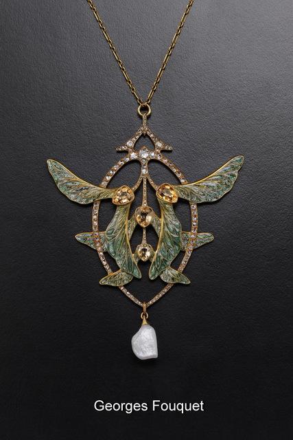, 'Art Nouveau Pendant,' ca. 1906, Fine Art Silver