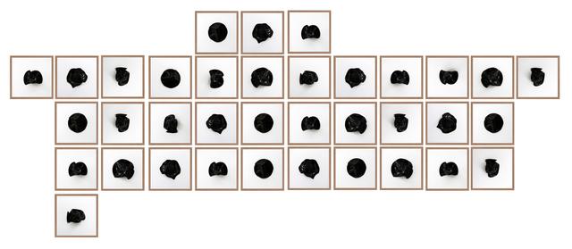 , 'Untitled (All Tomorrow's Parties Black 36),' 2016, Machete