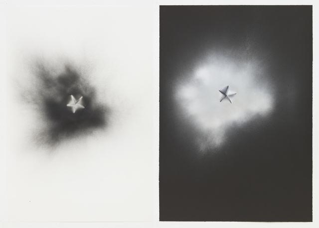 , 'Non-Foldings - Cosmic Explosion #5,' 2012, STPI