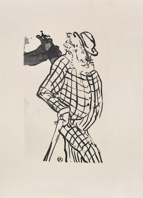 , 'Eccentric English Comedian,' 1893, Ronin Gallery