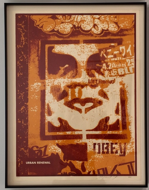 Shepard Fairey (OBEY), 'Japan Stencil', 2000, Gregg Shienbaum Fine Art