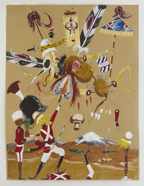 , 'Andrew fighting Tesco demon,' 2013, Nanzuka