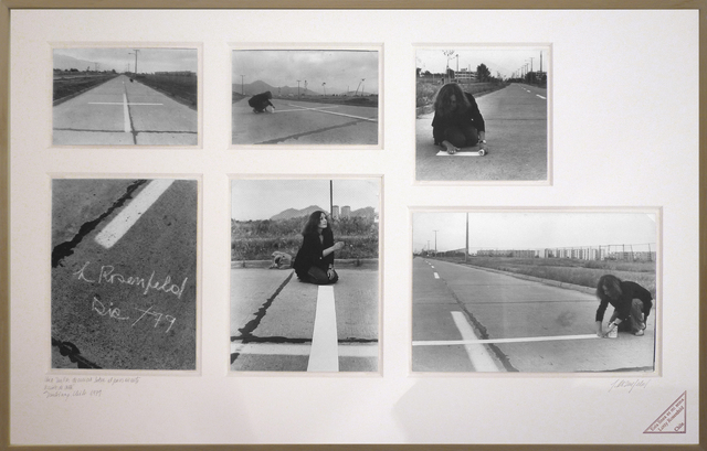 , 'Una milla de cruces sobre el pavimento / A mille of crosses on the pavement,' 1979, espaivisor - Galería Visor
