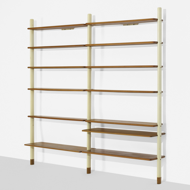 Scanflex, 'Wall-mounted shelving unit', c. 1965, Wright