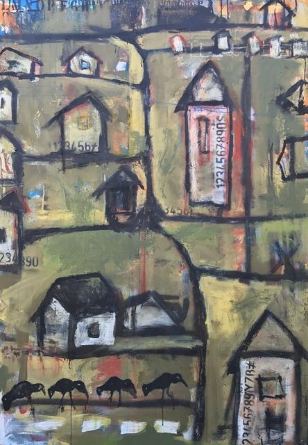 Ronald WICK Wickersham, 'Mr. Ronald's Neighborhood', 2017, JCO's Art Haus