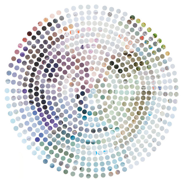 , 'Dots Portrait,' 2017, Klein Editions