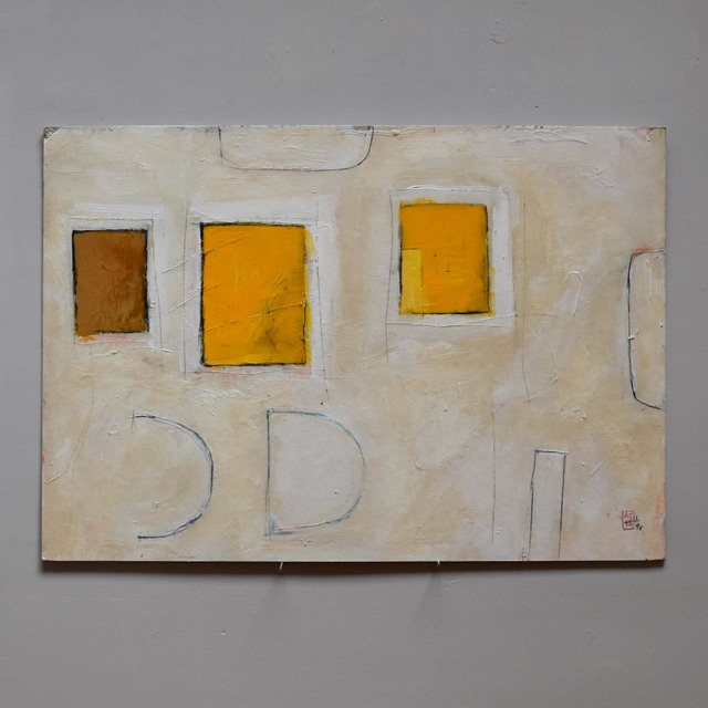 , '3 squares yellow (337),' 2000, Cadogan Contemporary