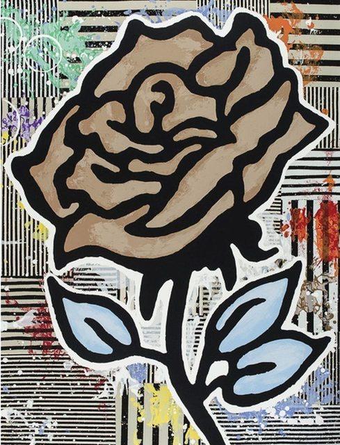 Donald Baechler, 'Brown Rose', 2015, Artsnap