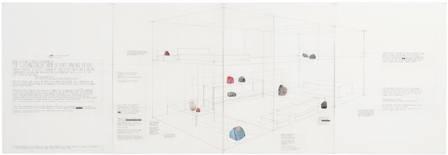, 'A Case Study in Schematics, Surveillance and Murder,' 2015, Western Exhibitions