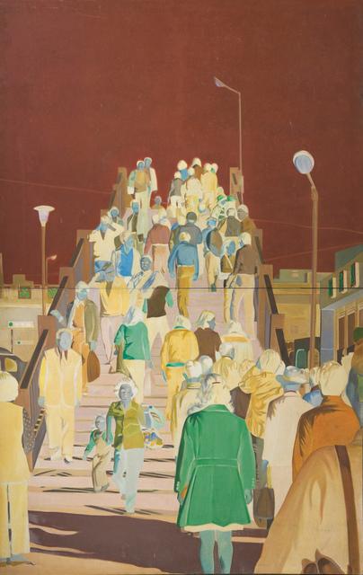 Hwang  Buh-Ching, 'Footbridge', 1976, Double Square Gallery