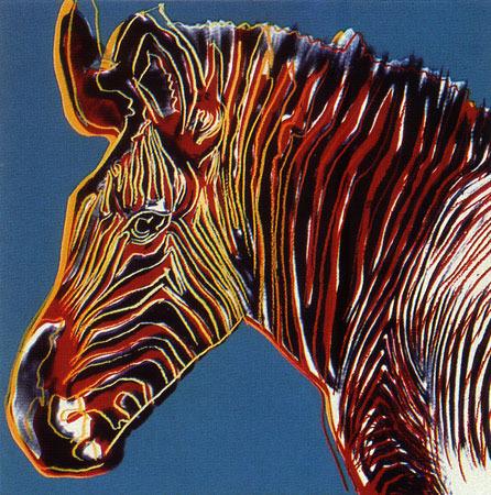 Andy Warhol, 'Endangered Species: Grevy's Zebra, II.300', 1983, Upsilon Gallery