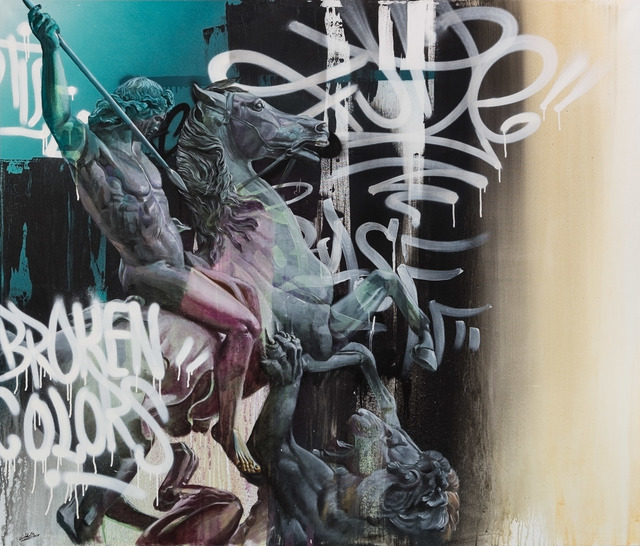 , 'Broken Colors,' 2018, Underdogs Gallery