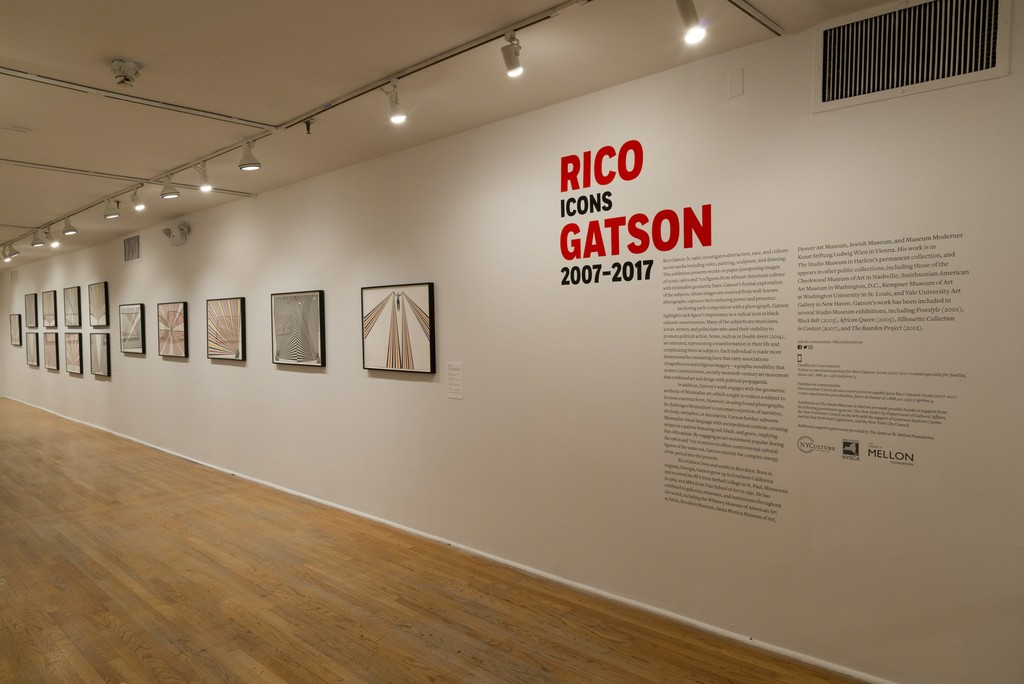 Rico Gatson: Icons 2007–2017 (installation view). The Studio Museum in Harlem, April 20–August 27, 2017; Photo: Adam Reich