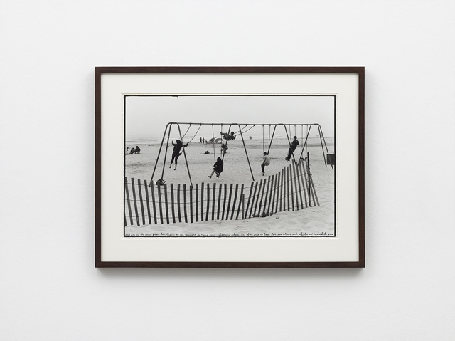 , 'Pismo Beach, CA, 2017 (swings, fence),' 2019, Nils Stærk