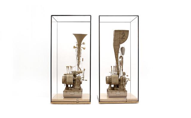 , 'Machine / Instrument No. 3 & Machine / Instrument No. 2,' 2018, MARS