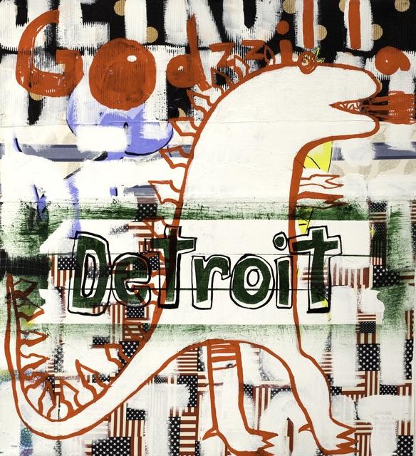 , 'Kidzilla Detroit,' 2009, Barry Whistler Gallery