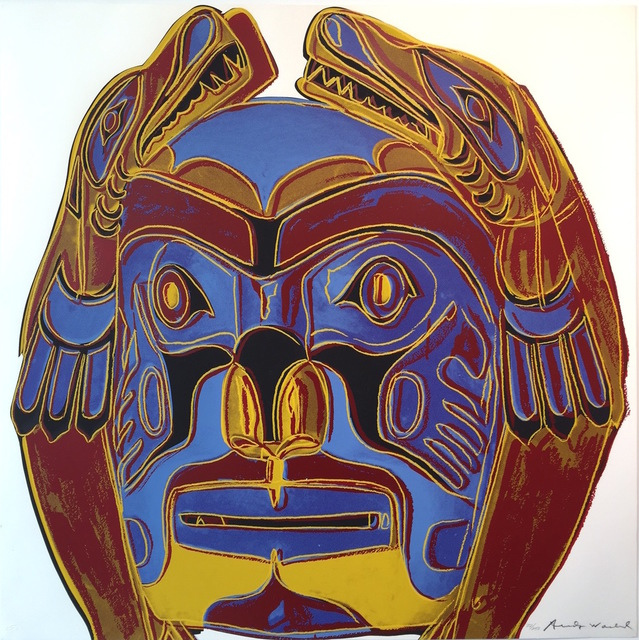 , 'Northwest Coast Mask, from Cowboys and Indians FS II.380,' 1986, Gregg Shienbaum Fine Art