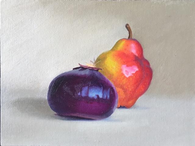 Ed Stitt, 'Onion and pear', 2018, Gallery NAGA