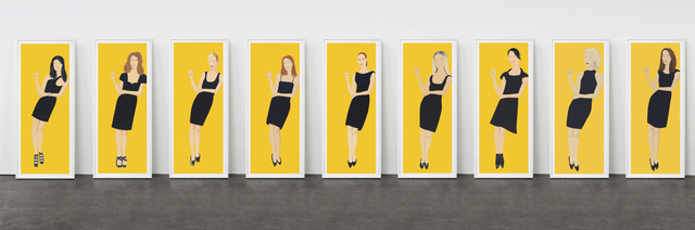 Alex Katz, 'Black Dress', 2015, Corridor Contemporary